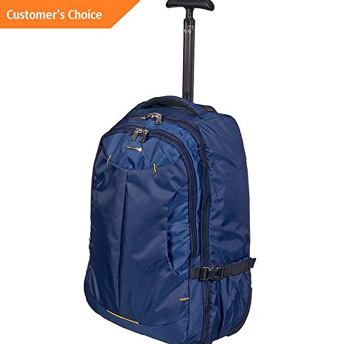 Amazon.com | Sandover Club Rochelier Small Rolling Trolley Backpack 3 Colors Rolling Backpack NEW | Model LGGG - 3984 | | Casual Daypacks
