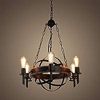 Amazon.com: Giluta - Lámpara de techo colgante esférica de ...