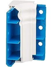 """Habengut binnenhoek voor plint""""Berliner Profiel"""" van PVC, kleur: wit inhoud: 1 stuk - voor hoekomgang in ruimten"""
