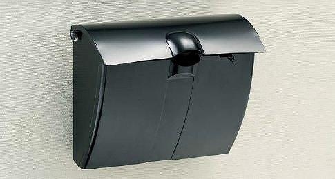四国化成 郵便ポスト 壁掛けタイプ アルメール WF1型 B01FEW24DO 26568
