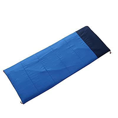Camping Park sleeping bag can be spliced warm portable envelope type single spring sleeping bag camping sleeping bag