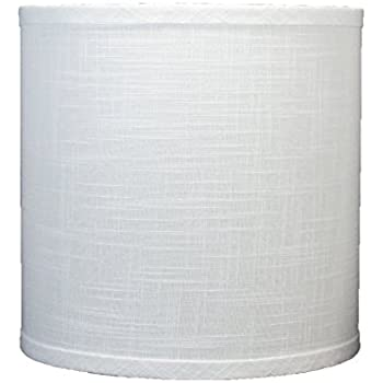 Urbanest Linen Drum Lamp Shade 10 Inch By 10 Inch By 10