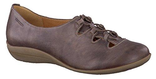 7 Lace Shoe Taupe Ladies UK Size Odilia Leather Dark Mephisto up wnEz0xqIn