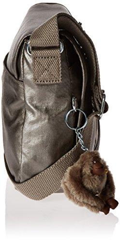 Attyson Pewter Bag Crossbody Metallic Metallic Kipling anT6gO6