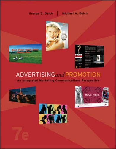 Advertising and Promotion: An Integrated Marketing Communications Perspective w/ Premium Content Card