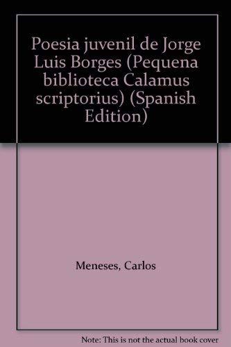 Poesia juvenil Pequeña biblioteca Calamus scriptorius: Amazon.es: Meneses, Carlos: Libros