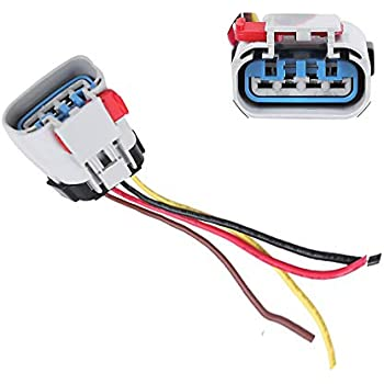 Amazon.com: APDTY 4pinfpharness Fuel Pump Wiring Harness 4 ... on gm window switch wiring, gm fuel lines, gm a/c compressor wiring, gm tail light wiring, gm fuel gauge wiring,