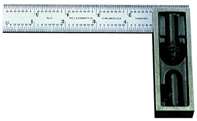 Starrett 13C 6-Inch Double Square with Hardened Blade from Starrett