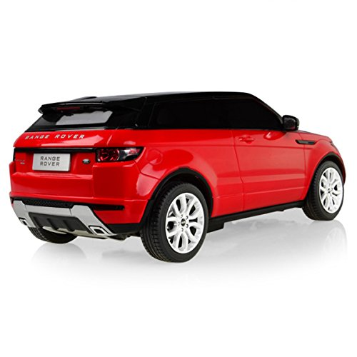 licensed rastar r c 1 24 remote control car land rover range rover sport evoque 4690 red car. Black Bedroom Furniture Sets. Home Design Ideas