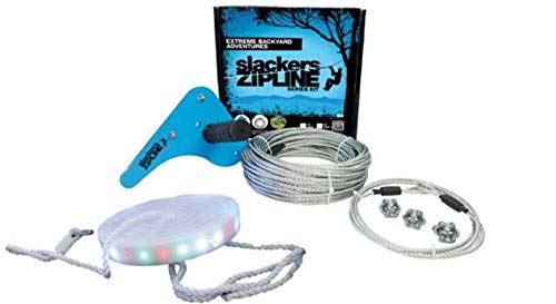 (Slackers Series 70' Zipline Kit with LED Seat )