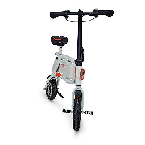 INMOTION P1 Mini-Scooter Mixte Adulte, Blanc/Orange