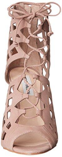 Steve Madden Sedduce vestido de la sandalia Natural Nubuck
