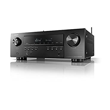 Denon AVR-S640H Audio Video Receiver, 5.2 Channel 4K Ultra HD Home Theater Surround Sound and Music Streaming System Wi-Fi, Bluetooth, Airplay, Alexa and HEOS Wireless Speaker Expansion Built In