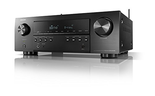 Denon AVR-S640H Audio Video Receiver, 5.2 Channel 4K Ultra HD Home Theater Surround Sound and Music Streaming System - Wi-Fi, Bluetooth, Airplay, Alexa and HEOS Wireless Speaker Expansion Built In