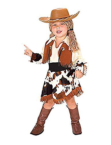 EVOLUTION Girls and Toddler Cowgirl Halloween Costume]()