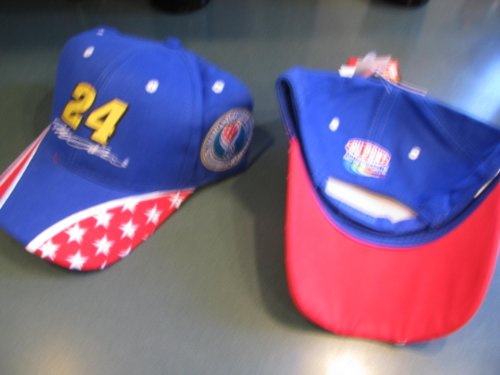 Jeff-Gordon-24-Dupont-Motorsports-Patriotic-Stars-Red-White-Blue-America-Supports-You-Department-of-Defense-Winners-Circle-Hat-Cap-One-Size-Fits-Most-OSFM