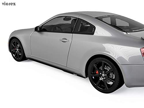 Vicrez Infiniti G35 Coupe 2003-2007 Side Skirt splitters vz100601