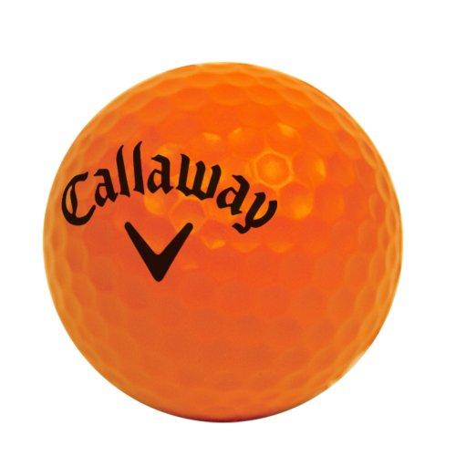 Callaway HX 18-Pack Practice Balls, Orange