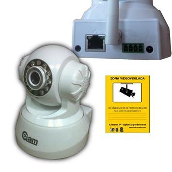 Neo COOLCAM Camara de videovigilancia WiFi IP Blanca Vision ...