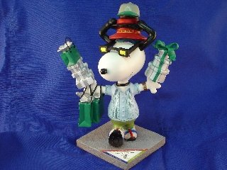 "Snoopy Statue "" on the Town"" Westland Giftware"