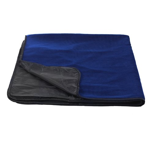 Turfer Waterproof Tailgate/Picnic Blanket With Handles (Navy)
