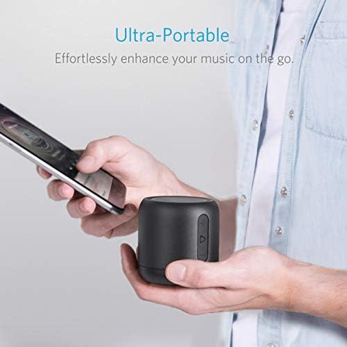 Anker Soundcore Mini, Super-Portable Bluetooth Speaker with 15-Hour Playtime, 66-Foot Bluetooth Range, Enhanced Bass, Noise-Cancelling Microphone – Black 41QxqtTTT 2BL