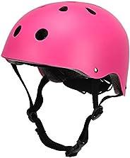 BOSONER Kids Bike Helmet,Toddler Skateboard Helmet Adjustable Impact Resistance Ventilation Multi-Sport Helmet
