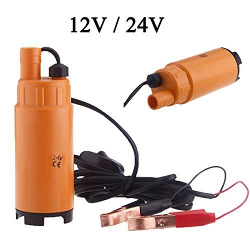 lesoxid (TM) 12 V/24 V DC plástico Mini Combustible Diesel Agua ...