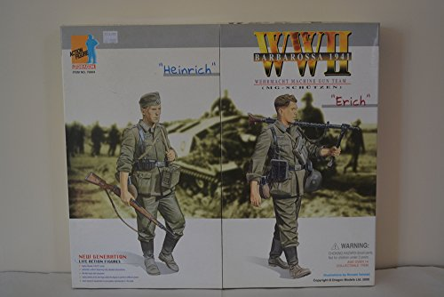 1/6 Scale Dragon Models Barbarrossa 1941 Wehrmacht Machine Gun Team (Heinrich and (1/6 Scale Dragon)