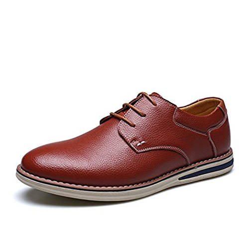 Brown casual 44 Brown Le nuove scarpe in morbida pelle EawxFYTxq