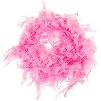 snowwer rosa Boa de plumas mullido craft decoración