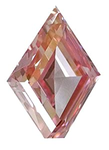 6.14 ct Fancy Intense Pink Loose Natural Diamond GIA Certified KITE Shape Very Rare bug size diamond