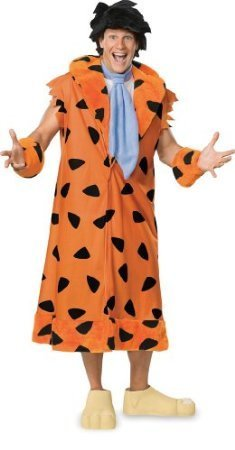 Flintstones Costumes Halloween The (Fred Flintstone Costume - X-Large - Chest Size)