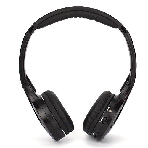 NAVISKAUTO Wireless On-ear Headphone Headset, Pack of 1 -Black