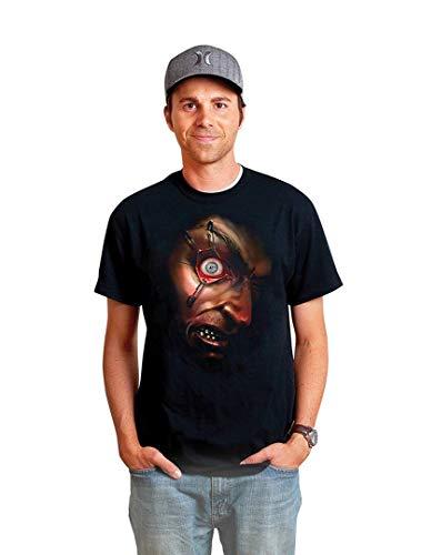 (Morph Costumes Morphsuits Men's Frantically Moving Eyeball Digital Dudz Shirt)