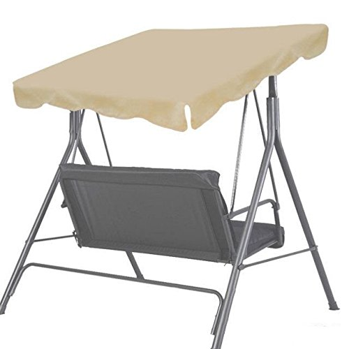 "BenefitUSA Patio Outdoor 73""x52"" Swing Canopy Replacement..."