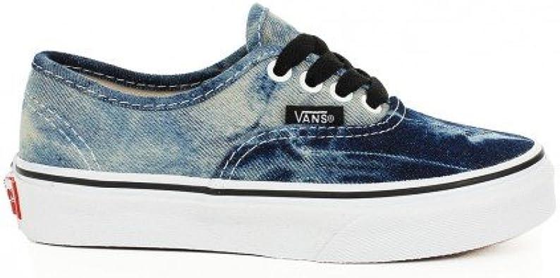 vans bleu delave
