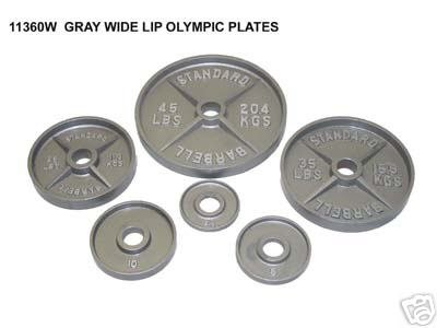 Olympic 300 Lb Gray Set & Power Rack
