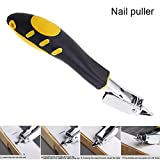 lzndeal Upholstery Staple Remover,Heavy Duty Staple Remove,Non-Slip Rubber Handle,Convenient Suspension Design,1 Pcs Upholstery Staple Remover with Tack Puller Tool Ergonomic Handle