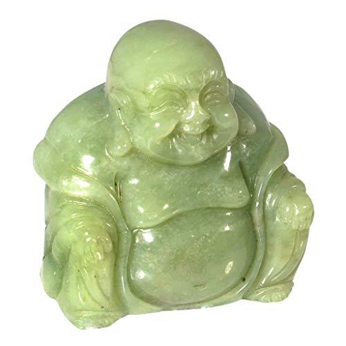 - CrystalAge New Jade Sitting Buddha Statue