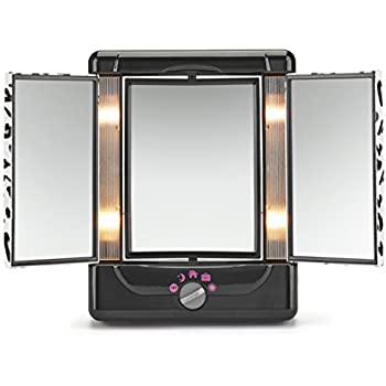 Amazon Com Conair Two Sided Lighted Makeup Mirror With 3