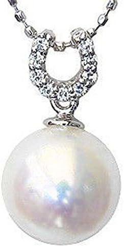 ペンダントトップ パール プラチナ ペンダントヘッド ダイヤ あこや本真珠 8.5mm アコヤ ダイヤモンド 9石 0.05ct PT900 プラチナ 真珠ペンダントチャーム 記念日 お祝い 結婚式 パーティー