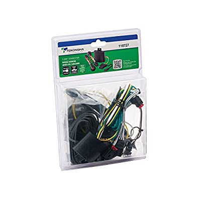 Tekonsha 118727 T-One Connector Assembly with Upgraded Circuit Protected ModuLite HD Module, 1 Pack: Automotive