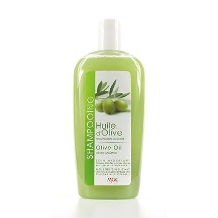 Champú de aceite de oliva en formato de 300ml para cabello ultaseco,
