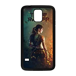 QSWHXN Tomb Raider Phone Case For Samsung Galaxy S5 i9600 [Pattern-6]