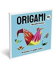 Origami - Mes Jolis Oiseaux | Activité Créative pour petits et grands | Loisir créatif de détente, concentration, précision | 40 oiseaux origami magnifiquement illustrées