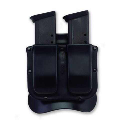 Galco M11X Matrix Double Mag Case for 9mm.40.357 Sig Staggered Metal Magazines (Black, Ambi)