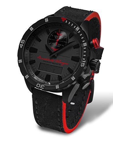 Vostok Europe Dakar Rally Benediktas Vanagas Signature Edition Men's Titanium Chrono Watch Black 9516R/320J370