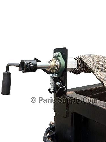 Hand Crank 8 'X 18' Tarp Roller Kit for Dump Truck or Trailer