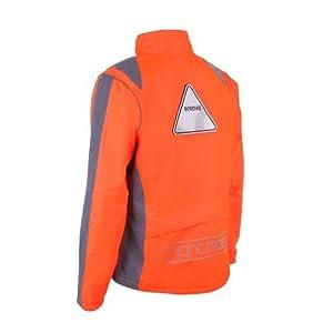 Proviz Nightrider Womens Jacket, Safety Orange, 16